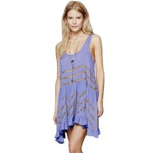 Intimately Free People Voile & Lace Trapeze Dress